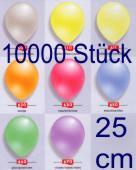 Luftballons Latex 25cm Ø Perlmutt 10.000 Stück (LRPEF 25/10000T)